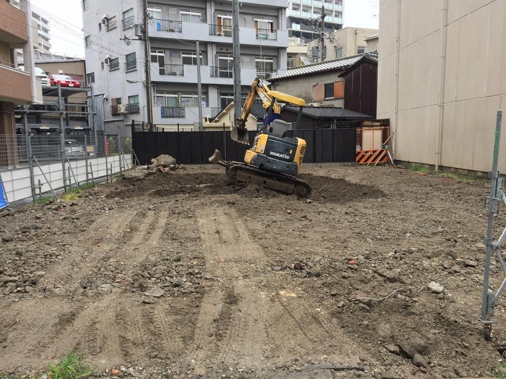大道の家 基礎工事着工 (11)